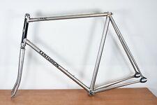 Rare 80s Centurion Trac Frame Fork Chrome Track Bike Single Fixed 61cm READ