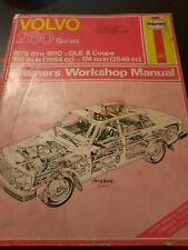 Volvo 260 Series Haynes Owner Workshop Manual 1975 Thru1980 GlE And Coupe