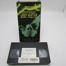 Grey Matter VHS