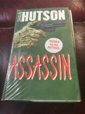 Assassin Shaun Hutson Hand Signed First Edition First Print 1988