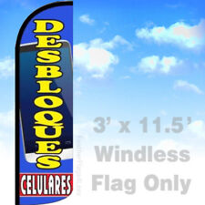 Flag Only 3' WINDLESS Swooper Feather Banner Sign - DESBLOOUES CELULARES bq