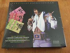 Elvis Presley 3 cd - Next - Stop Fayetteville - sealed digipak!
