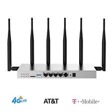 ATT Hotspot WiFi 4G LTE T-Mobile Router SIM Card Unlocked 1200Mbps Wireless WiFi
