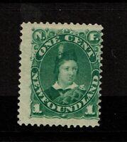Newfoundland SC# 44 Mint Hinged / Full Gum / Hinge Rems - S8272
