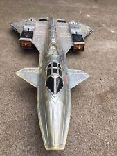 gi joe sky raven patrol Chrome 1990 Rare Plane Cobra Figure Night
