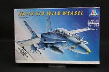 XY070 ITALERI 1/72 maquette avion 016 F/A-18 C/D Wild Weasel Année 1992  Ptitoys