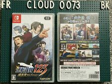 Phoenix Wright Ace Attorney Trilogy 123: (Nintendo Switch) Japanese/English NEW