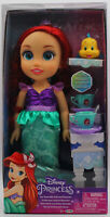 Genuine Disney Princess Ariel Doll Tea For Two With Flounder Christmas Gift 3+