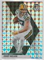2020 Panini Mosaic Football Silver Mosaic Jordy Nelson #80 Green Bay Packers