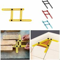 Four-Sided Measuring Instrument Angle-izer Template Ruler Mechanism Slides Tools