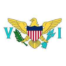 Virgin Islands World Country National Flag Vinyl Sticker Bumper Window Car New