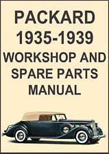PACKARD 1935-1939 WORKSHOP MANUAL
