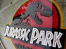 JURASSIC PARK 3D ART sign new  Fossil Dinosaur clean version movie dvd BIG  REX