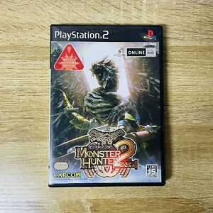 PS2 Monster Hunter 2 Dos CAPCOM Japan Used Sony PlayStation 2