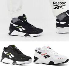 Reebok Classics AZTREK Running Shoes Sneakers Black White CN7187 SZ4-13
