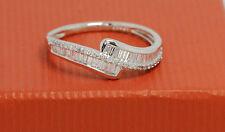 9 Carat Wedding White Gold SI2 Fine Diamond Rings