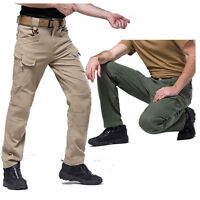 Men's Tactical Military Combat Enforcement Trousers Hunting Hiking Cargo Pants
