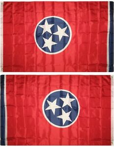 3x5 State of Tennessee Flag House Banner Super Polyester Grommets Premium 100D