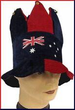 AUSTRALIA Flag JUMBO JESTER HAT Aussie Commonwealth Olympic Souvenir Work Party