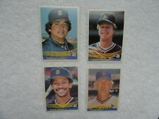 1984 Donruss World Champion Detroit Tigers Lopez Pashnick Cabell Bair FRESH !!