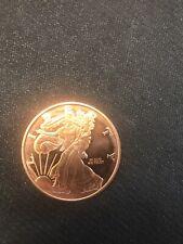 1oz Walking Liberty American Eagle Copper Coin .999 Bullion Round - BU
