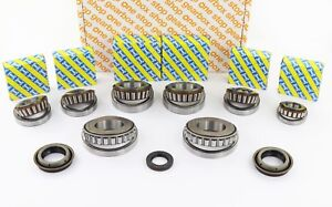 M32 GENUINE UPRATED LATE GEARBOX REBUILD KIT 8 BEARINGS 3 SEALS 2012 ONWARDS