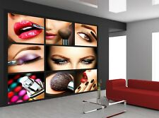 Professional Make-up Details  Photo Wallpaper Wall Mural DECOR Paper Poster