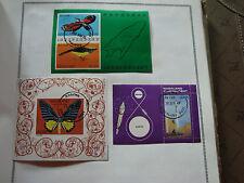 NAGALAND - 3 sellos sellados stamp