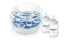 Philips AVENT Microwave Steam Sterilizer Express II for sterile baby bottles