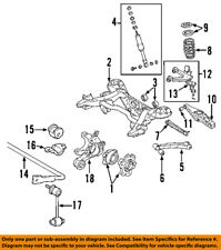 MITSUBISHI OEM 03-06 Montero Rear Suspension-Coil Spring MN125358