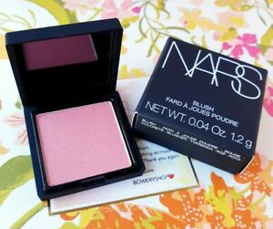 NARS Blush in ORGASM .04oz/1.2g Trial/Travel Size AUTHENTIC NEW in Box FREE SHIP