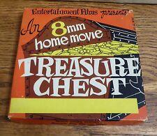 "VTG 8mm Movie Film Treasure Chest presenting ""Horse Opera Heroes;Mix, Maynard,""+"