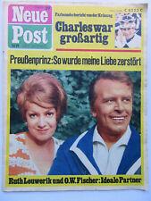 Neue Post 29/1969, Ruth Leuwerik, O.W.Fischer, Roy Black, Rudolf Schock, Heintje