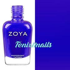 ZOYA ZP870 MIRAJANE neon classic blue cream nail polish~ ULTRA BRITES Collection