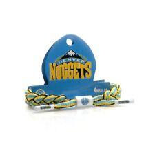 Rastaclat NBA Denver Nuggets Basketball Sports Bleu Lacet de Chaussure Bracelet