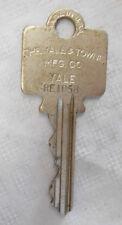 Vintage Large Head Yale & Towne Kirk Interlock Circuit Breaker R&IE RE1058 Key