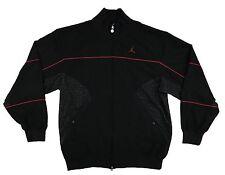 Air Jordan 3 Black Cement Elephant Print Wind Breaker Jacket Men's Large
