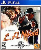 L.A. Noire (Sony PlayStation 4 PS4, 2017) Brand NEW Sealed Free Shipping
