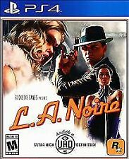 L.A. Noire (Sony PlayStation 4, 2017) PS4 NEW UNOPENED!