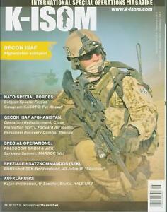 K-ISOM 6/2013 Spezialkräfte Magazin Kommando Bundeswehr Waffe Eliteeinheiten ISA