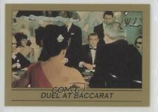 1993 Eclipse James Bond 007 Series 1 #2 Duel at Baccarat Non-Sports Card 0w6