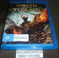 WRATH OF THE TITANS BLU-RAY (EX RENTAL)