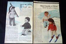 MODES ET TRAVAUX  Marie-Françoise  & Michel 1963-1966 réf 222