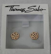 NEU! OVP Thomas Sabo Ohrstecker  Rosegold  Blume Ohrring