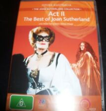 Joan Sutherland Act II Best Of  - Opera Australian (Australia Region 4) DVD – Li