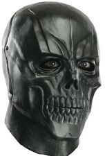 Black Mask Adult Batman Arkham Deluxe Adult Latex Full Skeleton  - Fast Ship -