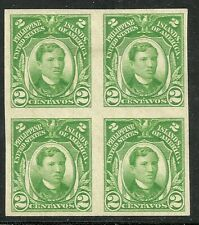 U.S. Possession Philippines stamp scott 340 - 2 cent imperf issue - mng - blk 4