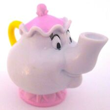 MRS POTTS Disney BEAUTY AND THE BEAST Teapot PVC TOY Figure CAKE TOPPER FIGURINE
