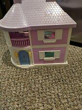 Vintage Blue Box Polly Pocket size Light Up Dream House Dollhouse