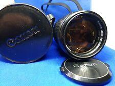 Canon FD 135mm f/2.5 Prime Lens +canon case